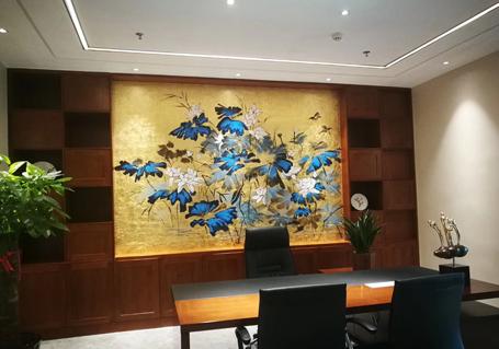 墙体彩绘酒店