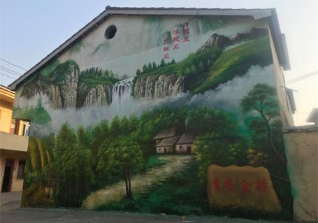 国画文化墙
