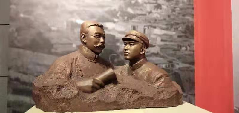 湖南历史场景还原雕塑