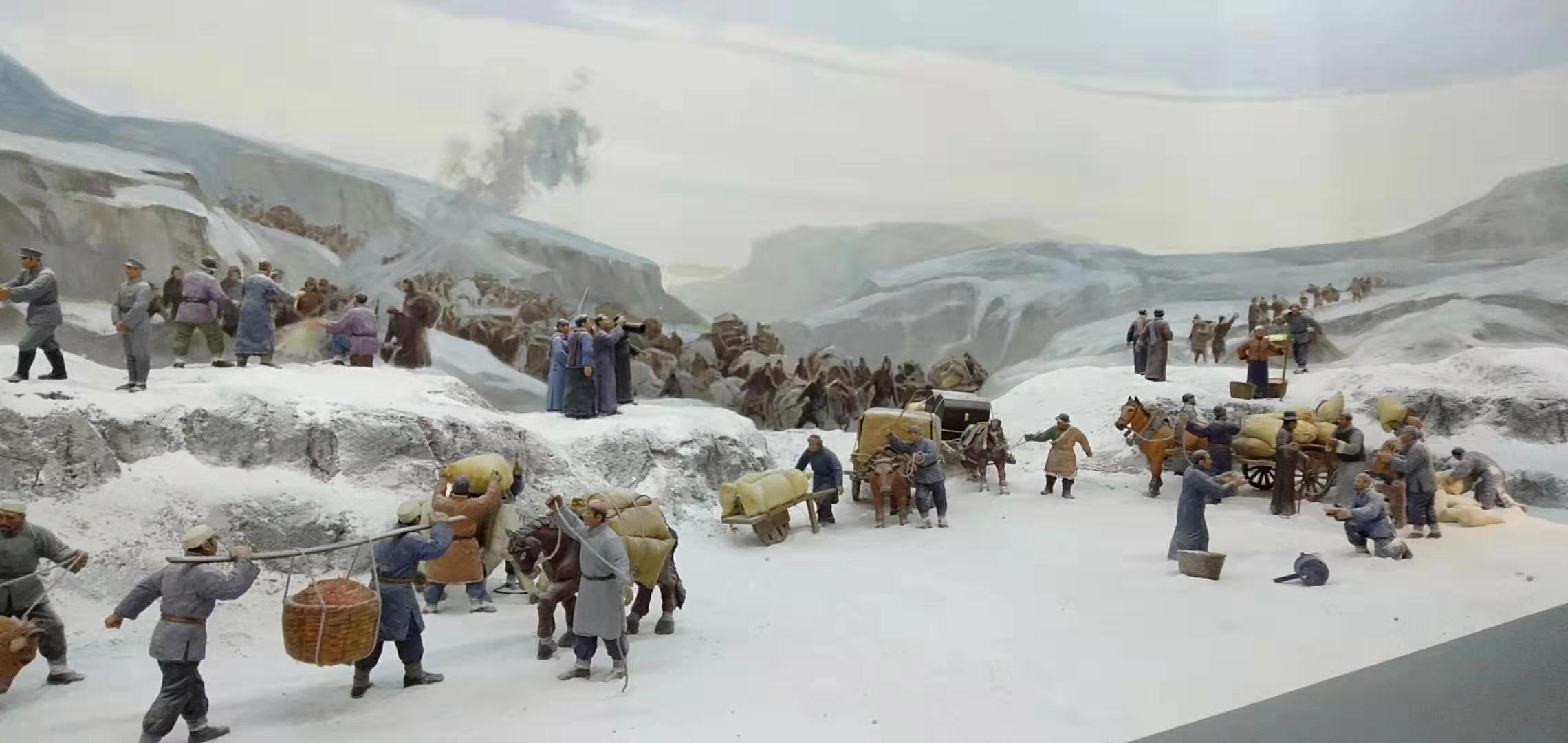 长沙人物场景还原雕塑