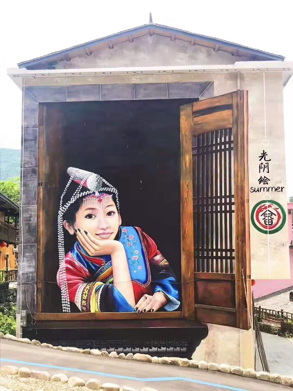 湖南美好乡村墙绘公司