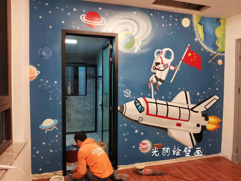 长沙儿童房彩绘设计