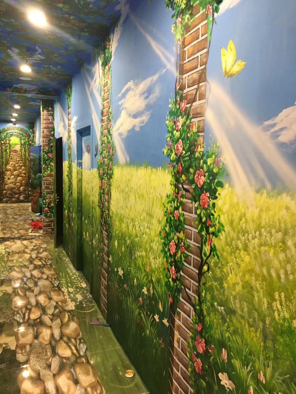 分享墙面彩绘需要注意的小细节