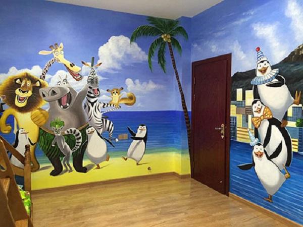 幼儿园装修设计彩绘的经验