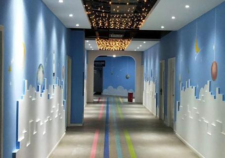 大理卡通彩绘墙