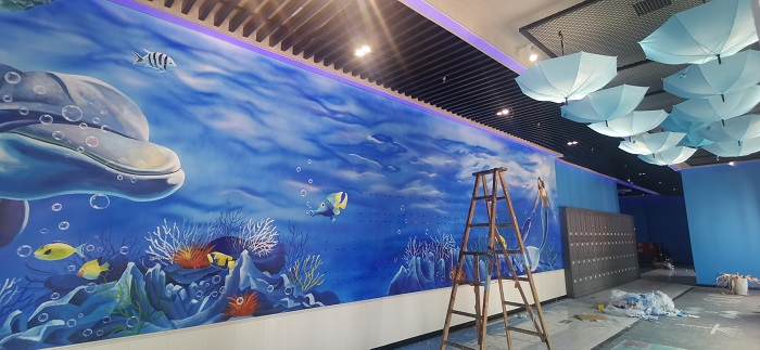 湖南室内彩绘墙公司