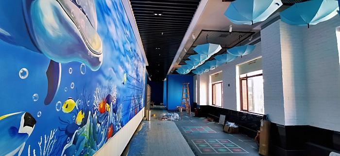 湖南室内彩绘墙