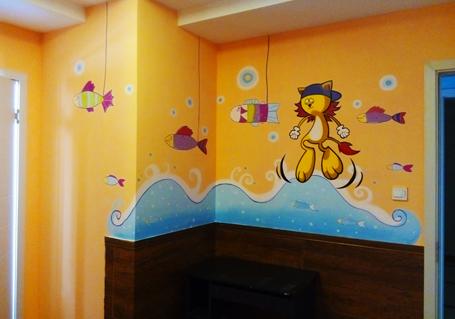 你家里画墙绘了吗?