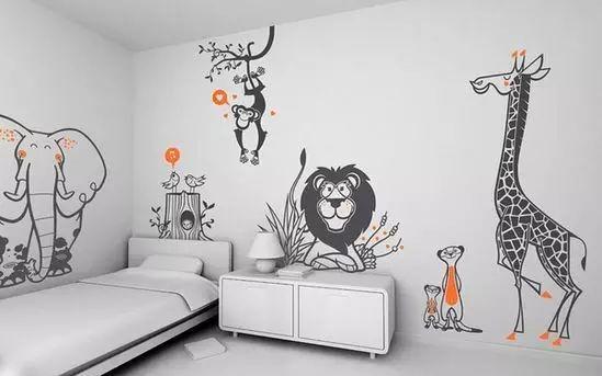 儿童房墙绘