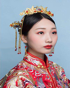 贺加贝  新娘妆教学