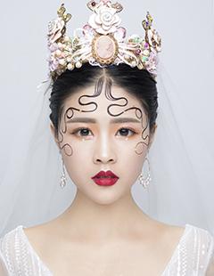 贺加贝创意彩妆培训