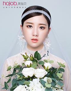 新娘妆学员作品