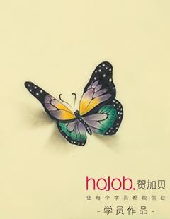 賀加貝彩蝶紋身中心