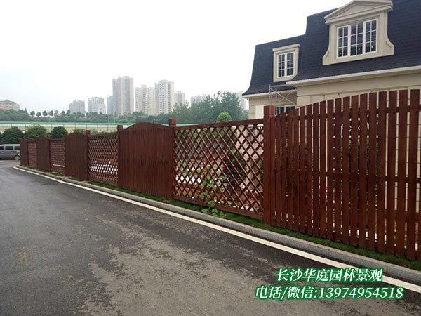 防腐木护栏1