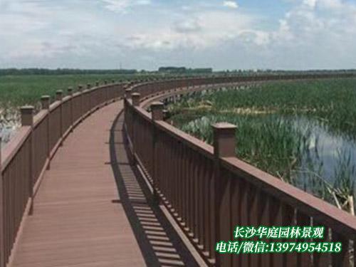 郴州塑木地板栈道