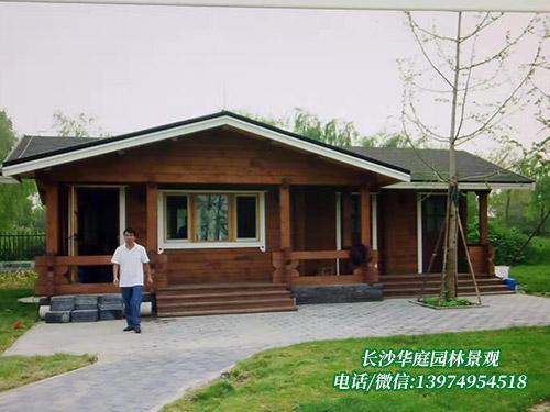 防腐木木屋3