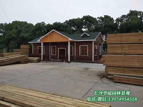 防腐木木屋4
