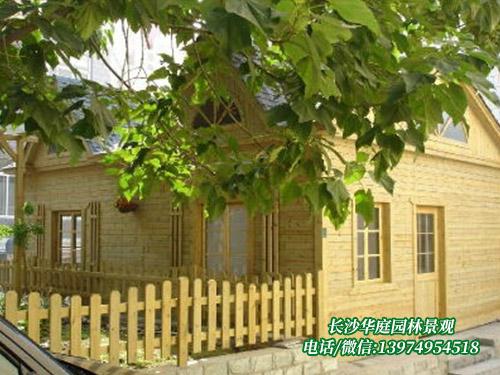 防腐木木屋8