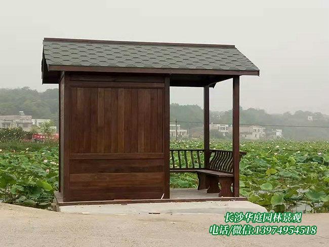 防腐木木屋11