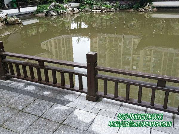 防腐木护栏5