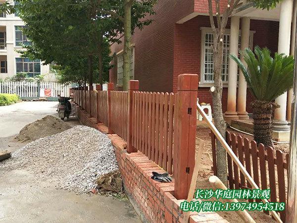 防腐木护栏6