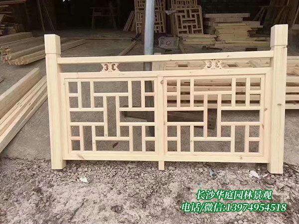 防腐木护栏8