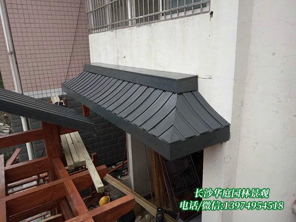防腐木门楼3