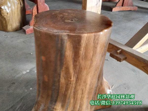 防腐木桌椅4