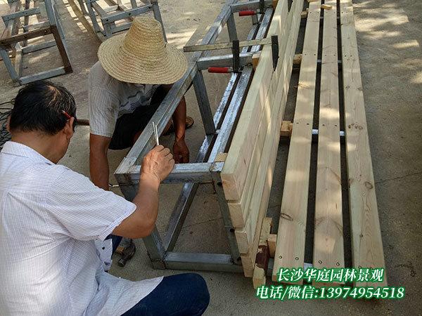 防腐木桌椅5