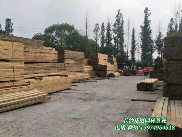 防腐木木材4