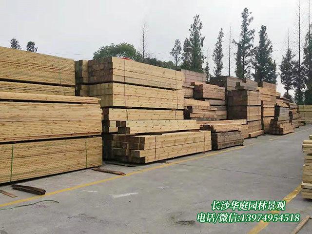 防腐木木材6