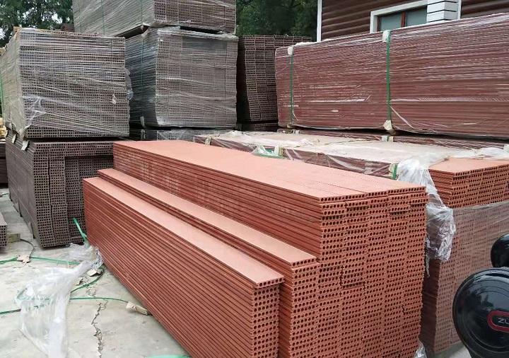 塑木地板材料