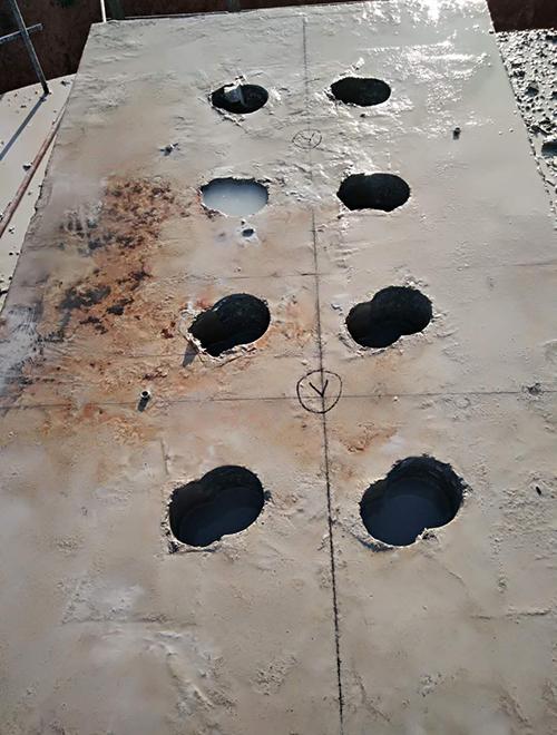 岳阳高架桥钻孔