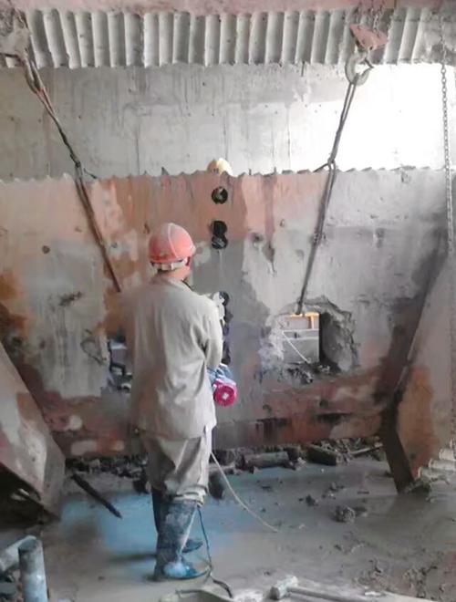 株洲水钻打孔施工