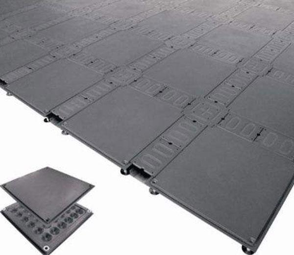 线槽网络地板