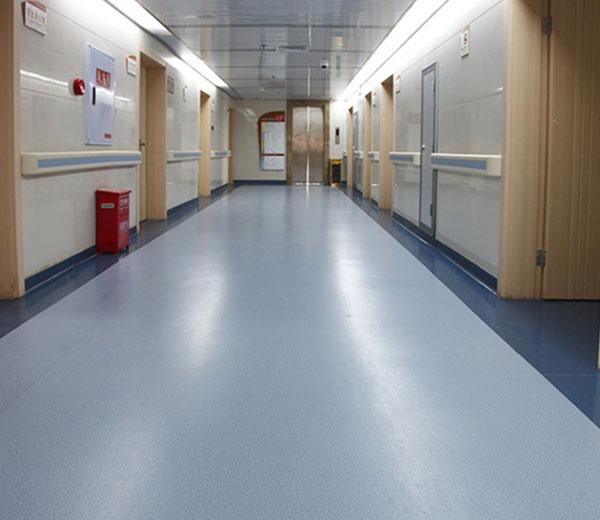 湖南省肿瘤医院选择PVC地板