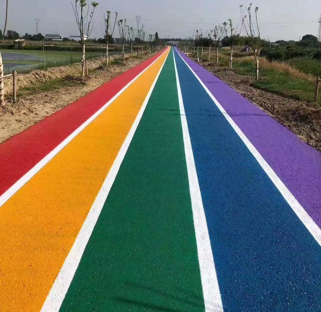 彩色透水地坪施工