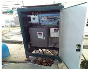 铝线拉制设备变频控制柜