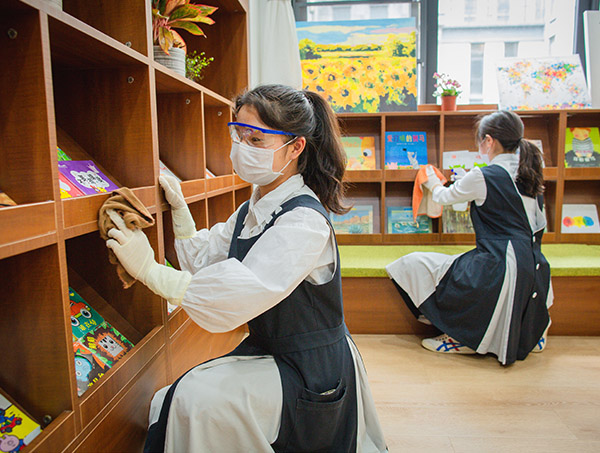 假期婴幼儿托管中心图书室