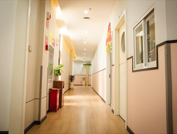 婴幼儿托管班走廊