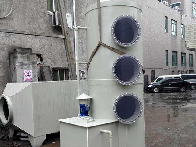 喷淋塔废气处理