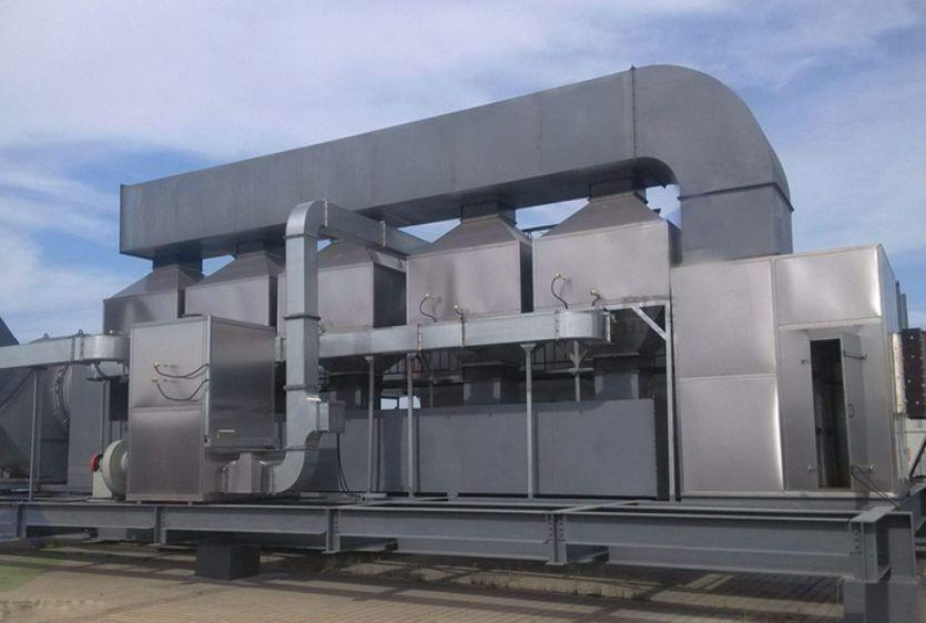 RCO催化燃烧的废气处理技术原理
