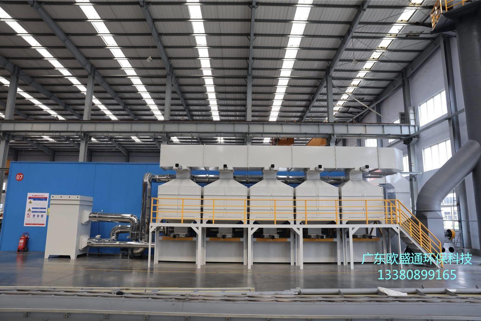 工业废气处理催化燃烧设备自动控制系统