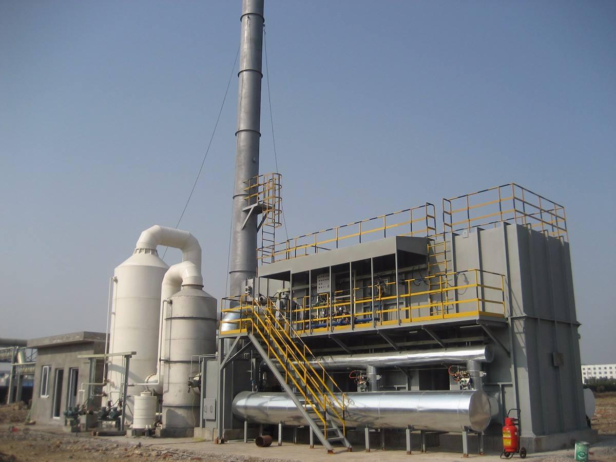储热式催化燃烧装置机器设备的特性