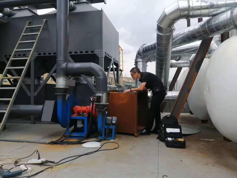 中山催化燃烧设备施工