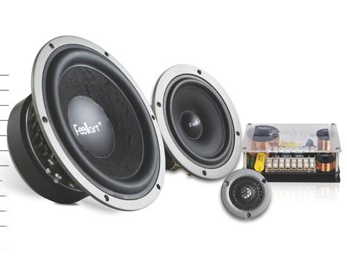 芬朗EU-6.3三分频套装喇叭