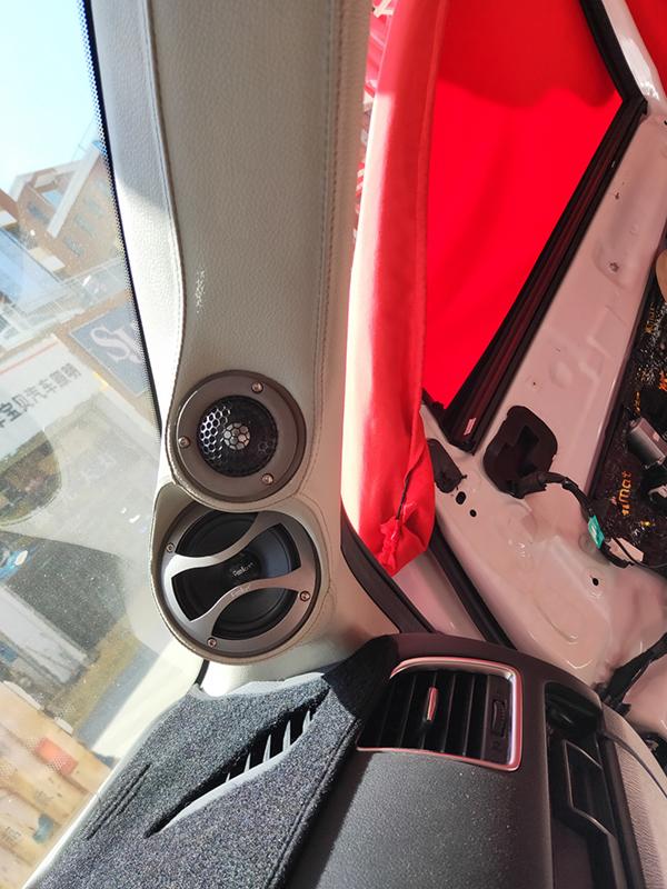 马自达CX-5音响改装,大麦隔音
