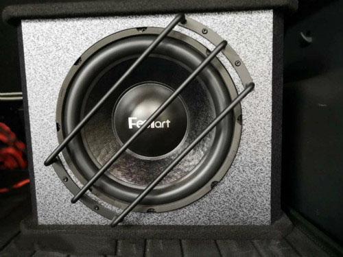 超低音安装细节
