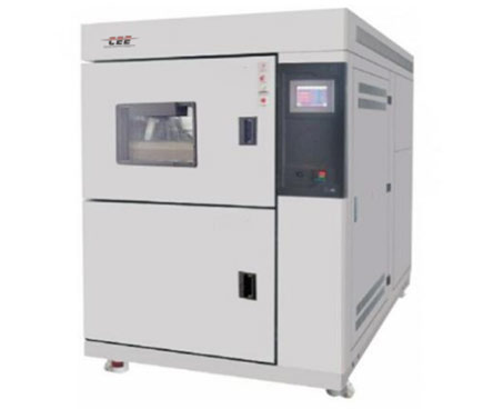 Two-chamber type temperature impact test chamber