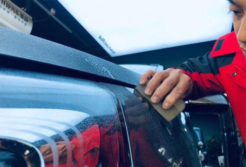 昆明汽车隐形车衣施工